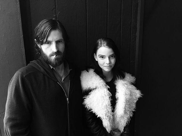Anya Taylor-Joy and Eoin Macken together