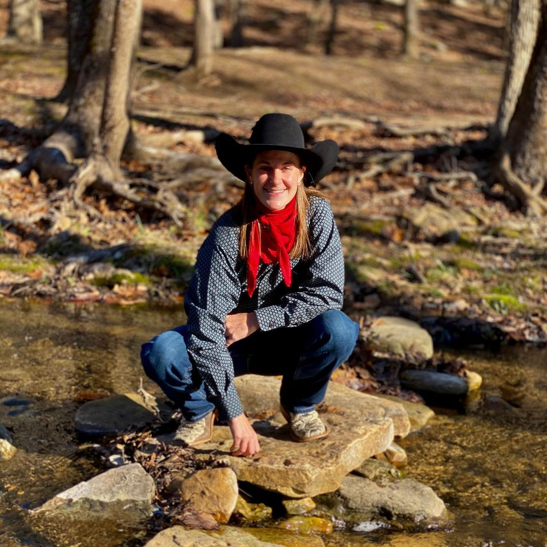Kristen Tuff Scott enjoying her time in the nature.
