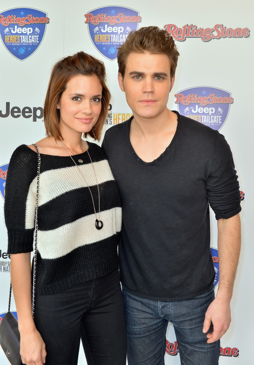 Torrey Devitto and her ex-husband Paul Wesley.