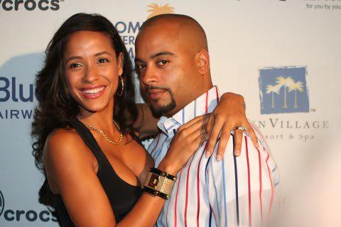 Dania Ramirez alongside her former fiance Jessy Terrero