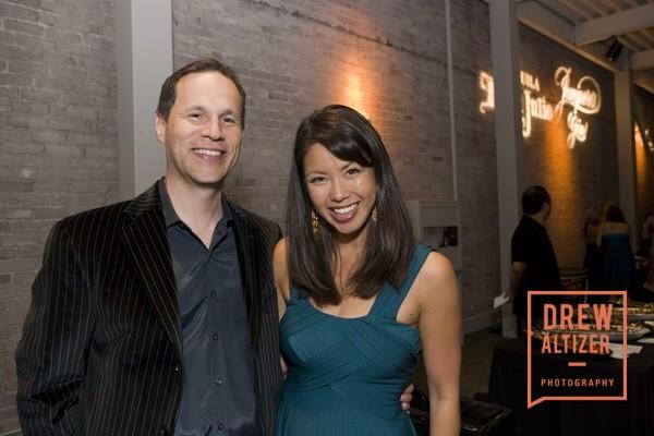 Janelle Wang and her husband Matt Nelson