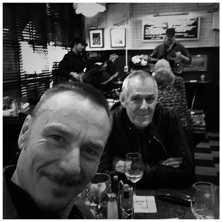 Ben Daniels and his gay partner Ian Gelder.