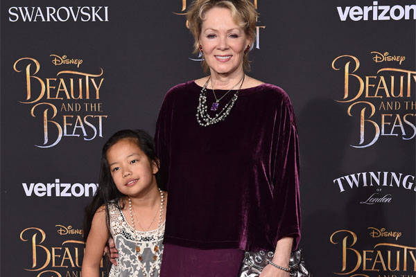 Jean Smart and her adopted daughter Bonnie Kathleen.