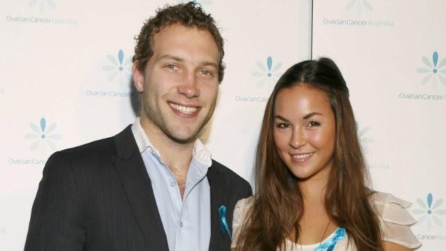 Jai Courtney with his ex-girlfriend Gemma Pranita